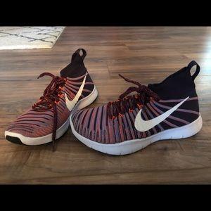 Nike Flyknit hightop trainers